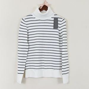 French Connection NWT Babysoft Stripe Sweater L